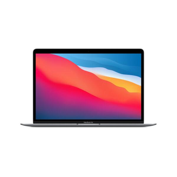 Apple MacBook Air Notebook 33,8 cm (13.3 Zoll) 2560 x 1600 Pixel Apple M 8 GB 256 GB SSD Wi-Fi 6 (802.11ax) macOS Big Sur Grau