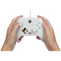 PowerA 1518809-01 Gaming-Controller Weiß USB Gamepad Analog / Digital Xbox One, Xbox Series S, Xbox Series X
