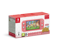 Nintendo Switch Lite (Coral) Animal Crossing: New...