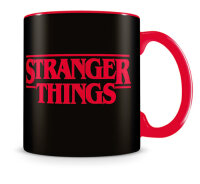 PYRAMID Stranger Things (Logo) Red Tasse Schwarz, Rot...