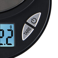 Xavax Jewel Elektronische Küchenwaage Schwarz Tisch Oval