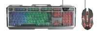 Trust GXT 845 Tural Tastatur USB QWERTZ Deutsch Schwarz