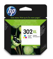 HP 302XL Original Cyan, Magenta, Gelb 1 Stück(e)