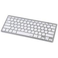 Hama KEY4ALL X510 Silber, Weiß Bluetooth QWERTZ...