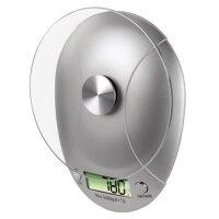 Xavax Milla Elektronische Küchenwaage Silber