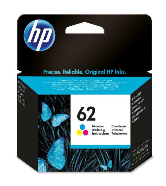 HP 62 Original Cyan, Magenta, Gelb