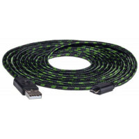 snakebyte Charge: Cable (3m Meshkabel) (Xbox One)