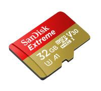 Sandisk Extreme Speicherkarte 32 GB MicroSDHC Klasse 10...
