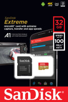 Sandisk Extreme Speicherkarte 32 GB MicroSDHC Klasse 10 UHS-I