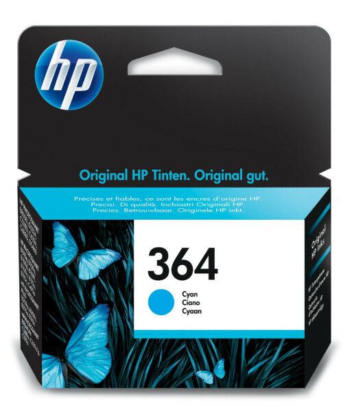 HP 364 Original Cyan 1 Stück(e)