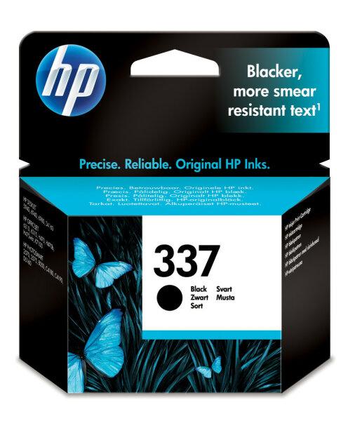 HP 337 Original Schwarz 1 Stück(e)