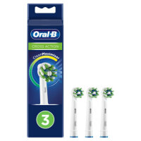 Oral-B Cross Action CleanMaximiser weiß, 3...