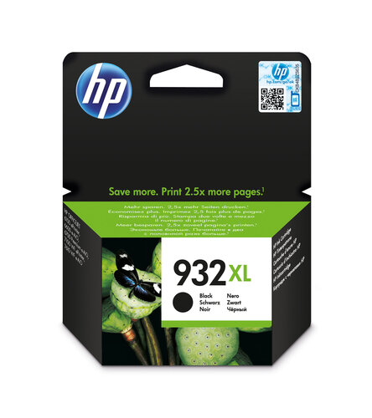 HP 932XL Original Schwarz 1 Stück(e)