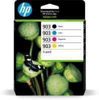 HP 903 4er-Pack Original-Druckerpatronen...