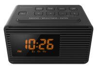 Panasonic RC-800EG-K Radio Uhr Schwarz