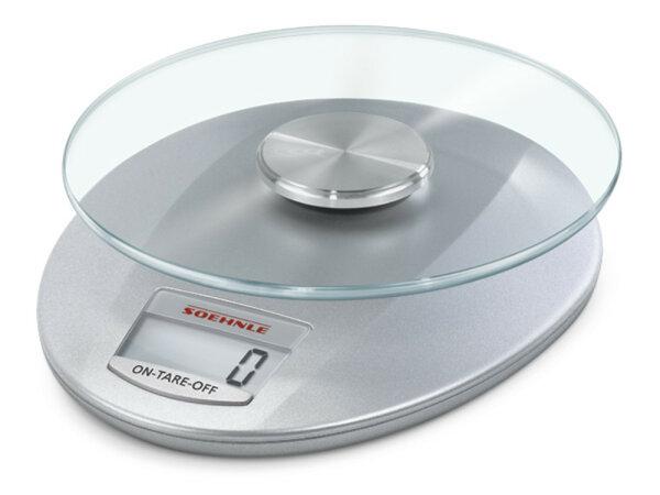 Soehnle Roma Silver Elektronische Küchenwaage Silber