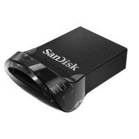 SanDisk Ultra Fit USB-Stick 128 GB USB Typ-A 3.2 Gen 1...