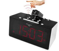 Soundmaster FUR6005 Radio Uhr Schwarz