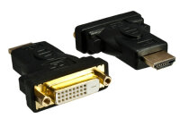 DINIC HDMI-DVI-AMF Kabelschnittstellen-/adapter DVI-D...