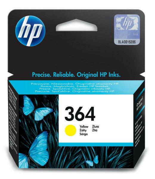 HP 364 Original Gelb 1 Stück(e)