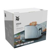 WMF Stelio 04.1401.0012 Toaster 2 Scheibe(n) Schwarz, Silber 900 W