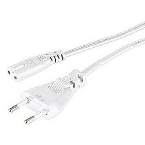Hama Mains Cable, 1,4 m, White Stromkabel Weiß