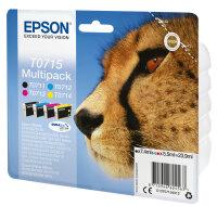 Epson Multipack 4 Farben T0715, DURABrite Ultra Ink