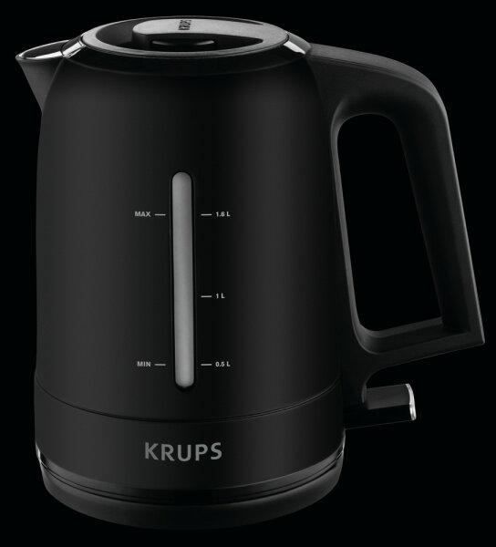 Krups BW 2448 Wasserkocher 1,6 l Schwarz 2400 W