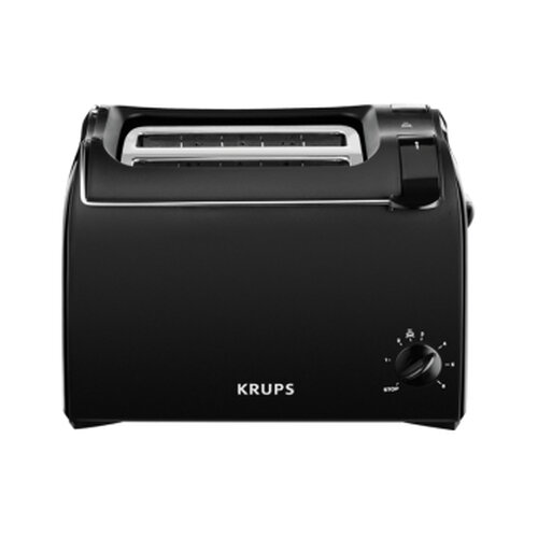 Krups ProAroma Toaster 2 Scheibe(n) Schwarz 700 W