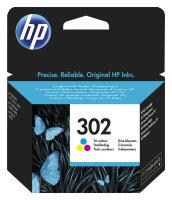 HP 302 Original Cyan, Magenta, Gelb 1 Stück(e)