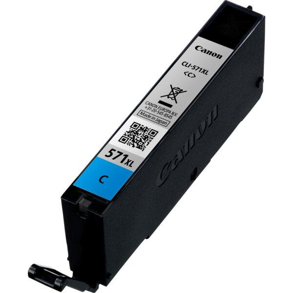 Canon CLI-571C XL Original Cyan 1 Stück(e)