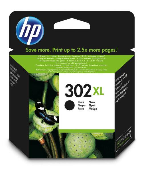 HP 302XL Original Schwarz 1 Stück(e)