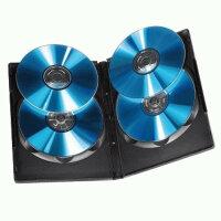 Hama DVD Quad Box, Black, DVD-Leerhüllen Package of...