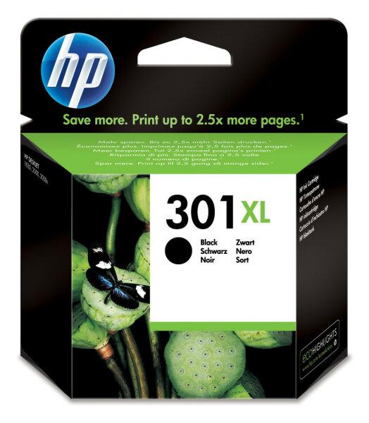 HP 301XL Original Schwarz 1 Stück(e)