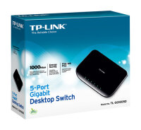 TP-LINK Unmanaged 5-Port-Gigabit-Desktop-Switch (5...