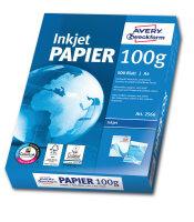 Avery Zweckform Bright White Inkjet Papier A4 500 Sheets Druckerpapier A4 (210x297 mm) Satin-matt Weiß