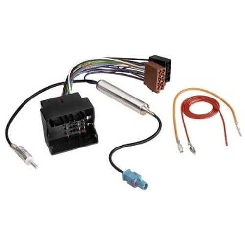 Hama Vehicle DIN Adapter with phantom powering for AUDI + VW