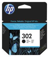HP 302 Original Schwarz 1 Stück(e)