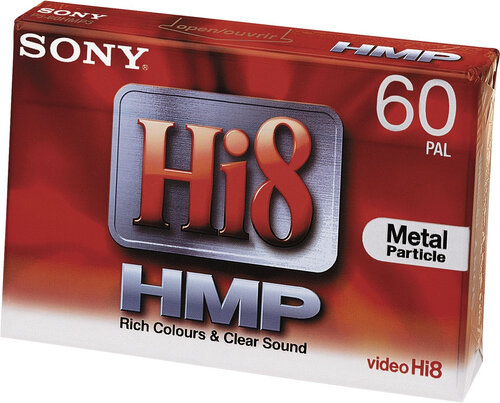 Sony 1x 60min Hi8 Video cassette 1 Stück(e)