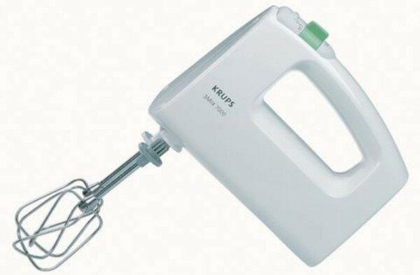 Krups 3 Mix 7000 Handmixer Weiß 500 W