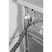 Xavax 00111876 Ablaufschlauch für alle Waschmaschinen, Geschirrspüler, 1,2 - 4 m