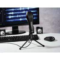 Hama MIC-USB Stream Schwarz