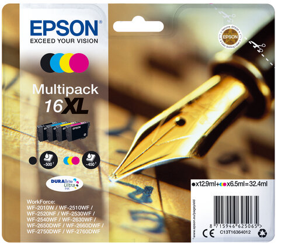 Epson Multipack 16XL DURABrite Ultra Ink