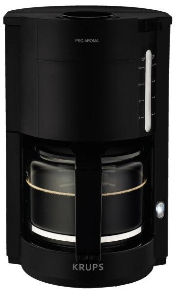 Krups F 309 08 ProAroma Filterkaffeemaschine Schwarz 10 Tassen