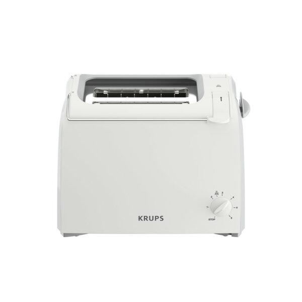 Krups ProAroma Toaster 2 Scheibe(n) Weiß 700 W