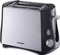 Cloer 3410 Toaster 2 Scheibe(n) 825 W