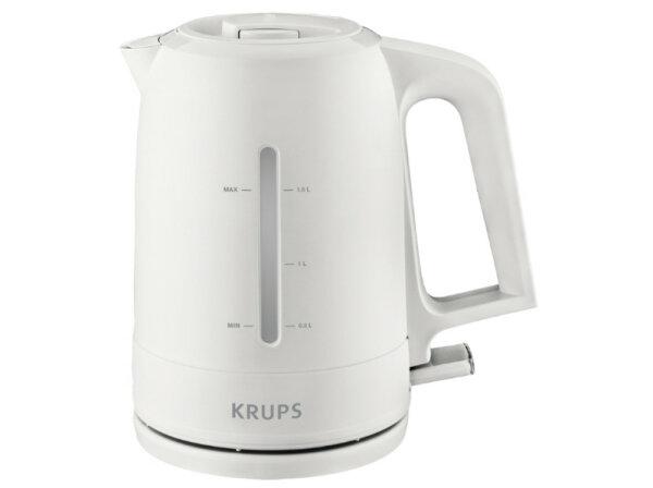 Krups BW 2441 Wasserkocher 1,6 l Weiß 2200 W