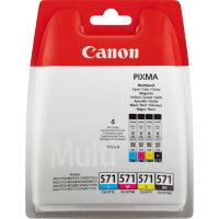 Canon CLI-571 Multipack Original Schwarz, Cyan, Magenta,...