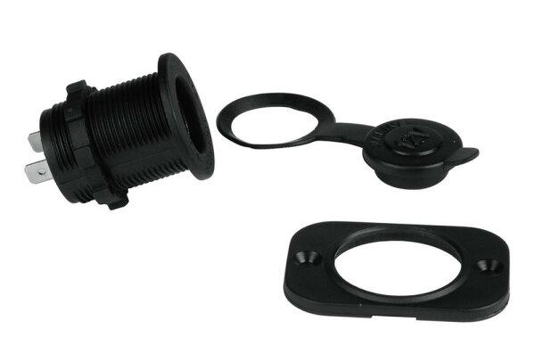 Hama Mountable Socket Kfz-Einbau-Steckdose