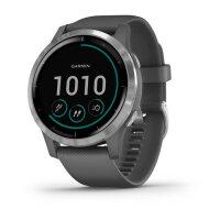 Garmin vívoactive 4 Smartwatch Silber 3,3 cm (1.3...